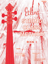 Etling String Class Method; Book 1 (Book); Violin (Violin); #YL00-12659 By Forest Etling