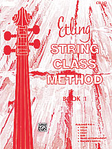 Etling String Class Method; Book 1 (Book); Cello (Cello); #YL00-12661 By Forest Etling