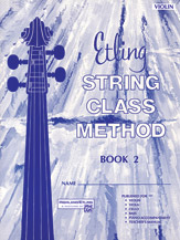 Etling String Class Method; Book 2 (Book); Violin (Violin); #YL00-12665 By Forest Etling