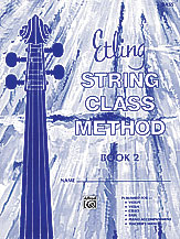 Etling String Class Method; Book 2 (Book); Bass (String Bass); #YL00-12668 By Forest Etling