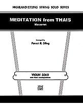 Meditation from <I>Thais</I>