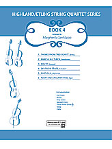 Highland/Etling String Quartet Series: Book 4 (Score & Parts) (String Quartet); #YL00-13193 Arr. Margaret Sanfilippo