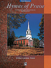 Hymns of Praise; 5 Intermediate Organ Solos for Worship (Book) (Organ); Hymn; Sacred; #YL00-14300 Arr. Anna Laura Page