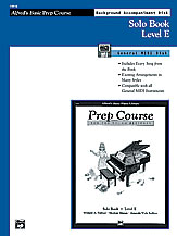 Alfred's Basic Piano Prep Course: GM Disk for Solo Book E