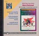 Alfred's Basic Piano Library: GM Disk -- Christmas Ensembles, Levels 2-3