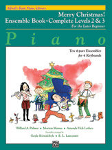 Alfred's Basic Piano Library: Merry Christmas! Ensemble, Complete Book 2 & 3