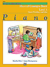 Alfred's Basic Piano Library: Musical Concepts Book 3