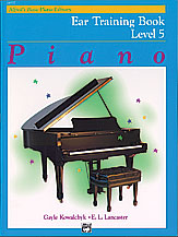 Alfred's Basic Piano Library: Ear Training Book 5