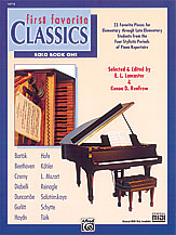 First Favorite Classics: Solo, Book 1