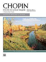 Chopin: Etude in A-flat Major, Opus 25, No. 1