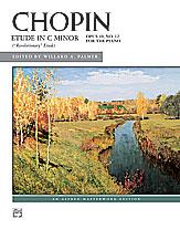 Chopin: Etude in C Minor, Opus 10, No. 12