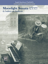 Moonlight Sonata, 1st Movement-Artistic Preparation and Performance Series  (Book) (Piano), Masterwork, #YL00-16745 By Ludwig van Beethoven / ed
