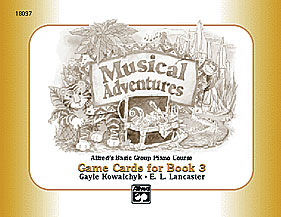 Musical Adventures Game: Game Cards, Level 3