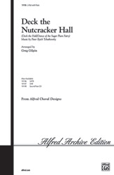 Deck the Nutcracker Hall : 2-Part : Jeff Funk : Nutcracker : Sheet Music : 00-19198 : 038081178431