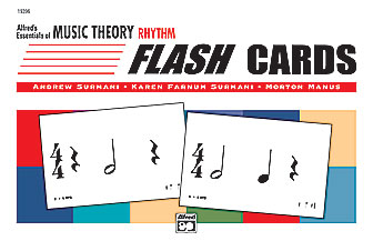 Alfred's Essentials of Music Theory: Flash Cards -- Rhythm