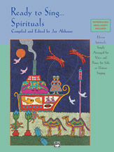 Ed. Jay Althouse : Ready to Sing... Spirituals : Solo : CD : 038081179766  : 00-19810