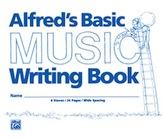 Alfred's Basic Music Writing Book (8' x 6')