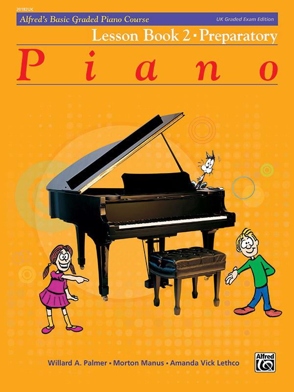 Alfred's Basic Graded Piano Course, Lesson Book 2