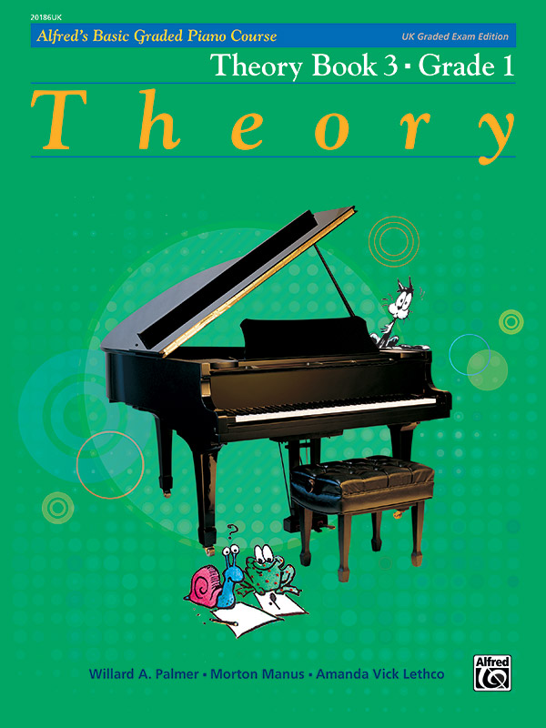 Alfred's Basic Graded Piano Course, Theory Book 3