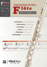 Grifftabelle fur Flote [Fingering Charts for Flute]