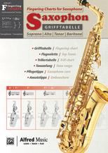 Grifftabelle fur Saxophon [Fingering Charts for Saxophone]
