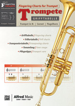 Grifftabelle fur Trompete [Fingering Charts for Trumpet]