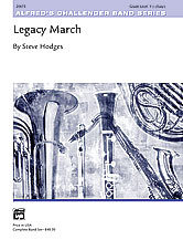 Legacy March: B-flat Tenor Saxophone