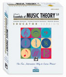 Alfred's Essentials of Music Theory: Software, Version 2.0 CD-ROM Lab Pack, Volumes 2 & 3 Lab Pack