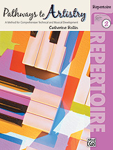 Pathways to Artistry: Repertoire, Book 2