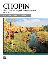 Chopin: Waltz in A-flat Major, Opus 69, No. 1