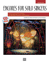Encores for Solo Singers