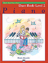 Alfred's Basic Piano Library: Duet Book 2