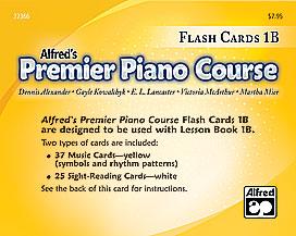 Premier Piano Course, Flash Cards 1B