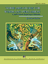 Three Miniatures for Winds and Percussion: 3rd Trombone