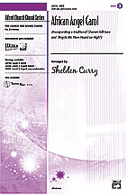 African Angel Carol : SATB : Sheldon Curry : Sheet Music : 00-23739 : 038081237053