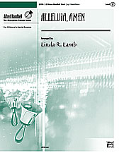 Alleluia, Amen,Alleluia, Amen (Octavo) (3-5 Octaves) (Handbells), Hymn; Sacred, #YL00-23780, Sheet Music,Handbell Music : Octavo : Hymn; Sacred : Alfred Handbell Series : 2 (Developing Ringers),Arr. Linda R. Lamb,SHEET MUSIC, Alleluia, Amen (Octavo) (3-