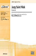 Russell L. Robinson : Jazzy Saint Nick : Showtrax CD :  : 038081261317  : 00-24022
