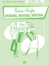 Palmer-Hughes Accordion Course Reading, Writing, Rhythm (Note Speller, Book 2)