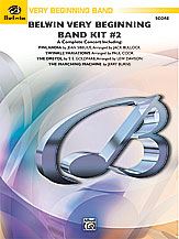 Belwin Very Beginning Band Kit #2: E-flat Alto Saxophone