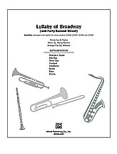 Lullaby of Broadway (and 'Forty-Second Street')