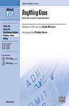 Anything Goes : SAB : Philip Kern : Cole Porter : Anything Goes : Sheet Music : 00-25145 : 038081266398