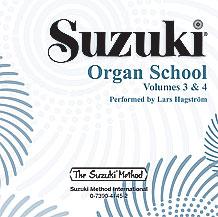 Suzuki Organ School CD, Volumes 3 & 4