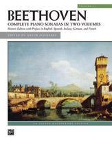 Beethoven: Sonatas, Volume 2