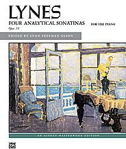 Lynes: Analytical Sonatinas, Opus 39