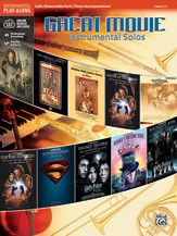 Great Movie Instrumental Solos for Strings