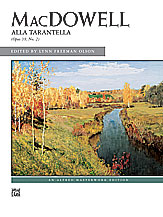 Alla Tarantella, Opus 39, No. 2
