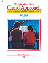 Alfred's Basic Piano - Chord Approach Duet Book Level 1