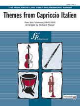 Themes from Capriccio Italien: 2nd B-flat Clarinet