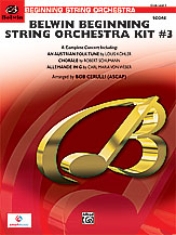 Belwin Beginning String Orchestra Kit #3