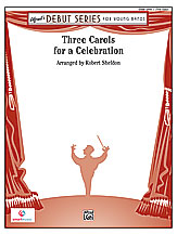 Three Carols for a Celebration: 2nd B-flat Trumpet